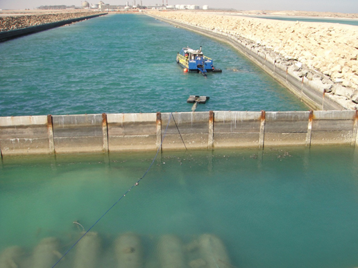 Seawater Intake Lagoon Dredging In Saudi Arabia
