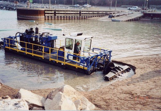 Beach Dredging In Lake Forest