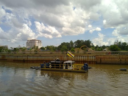 Brunei Dredging For Monsoon Season