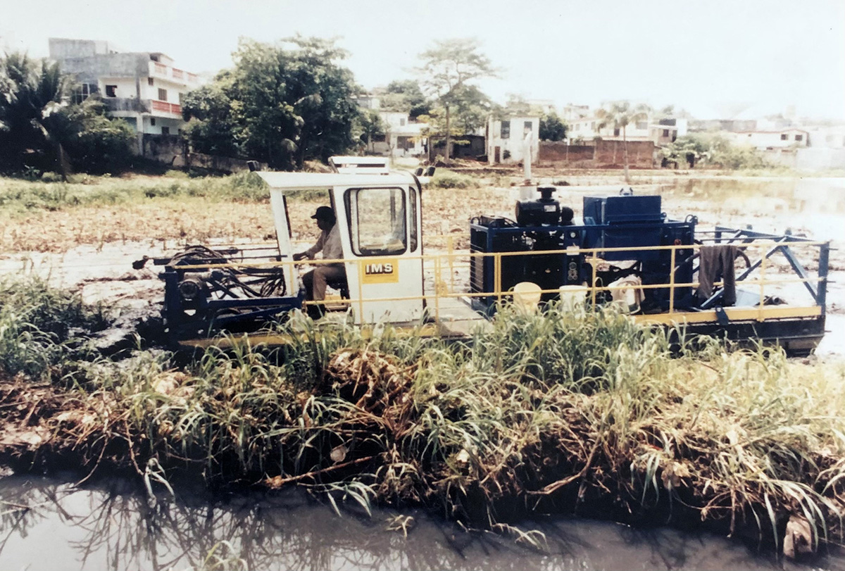 Lake Dredging In Mexico