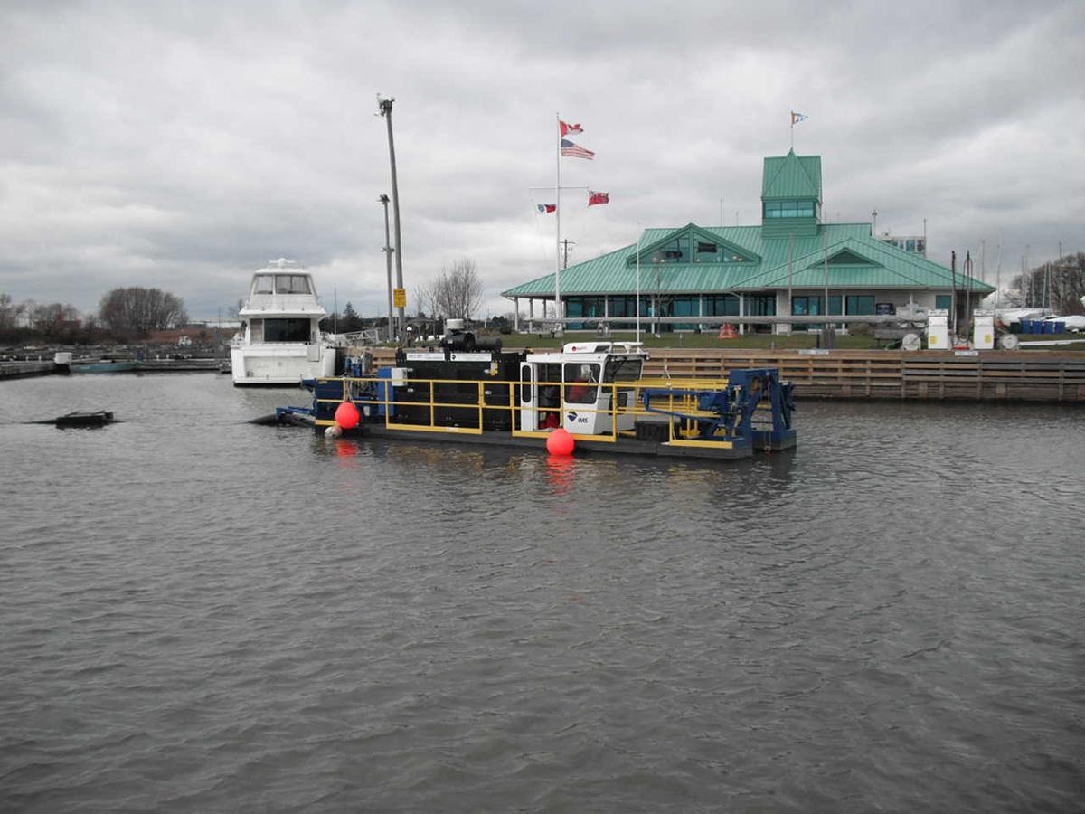 Lake Ontario Harbor Dredging