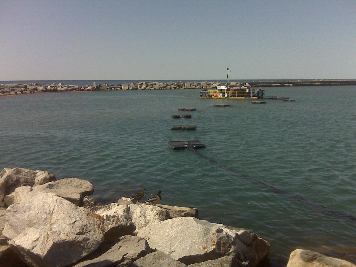 Dragagem do porto de Cobourg