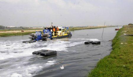 IMS 7012 HP дноуглубительные работы на канале Букинхема в Индии