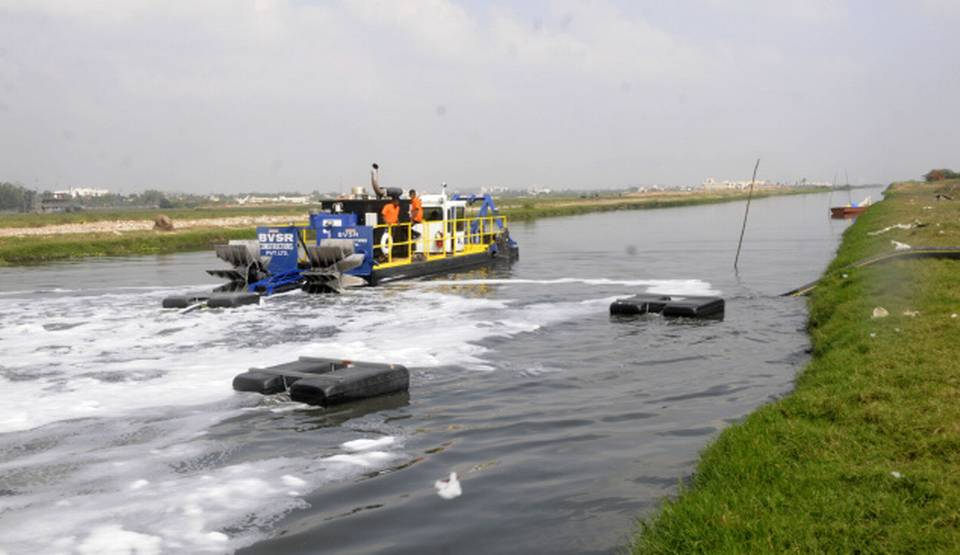 IMS 7012 HP dredging Buckinham Canal in India