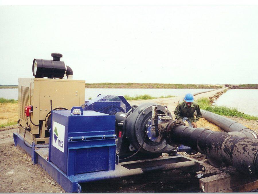 IMS Dredge Booster Pump