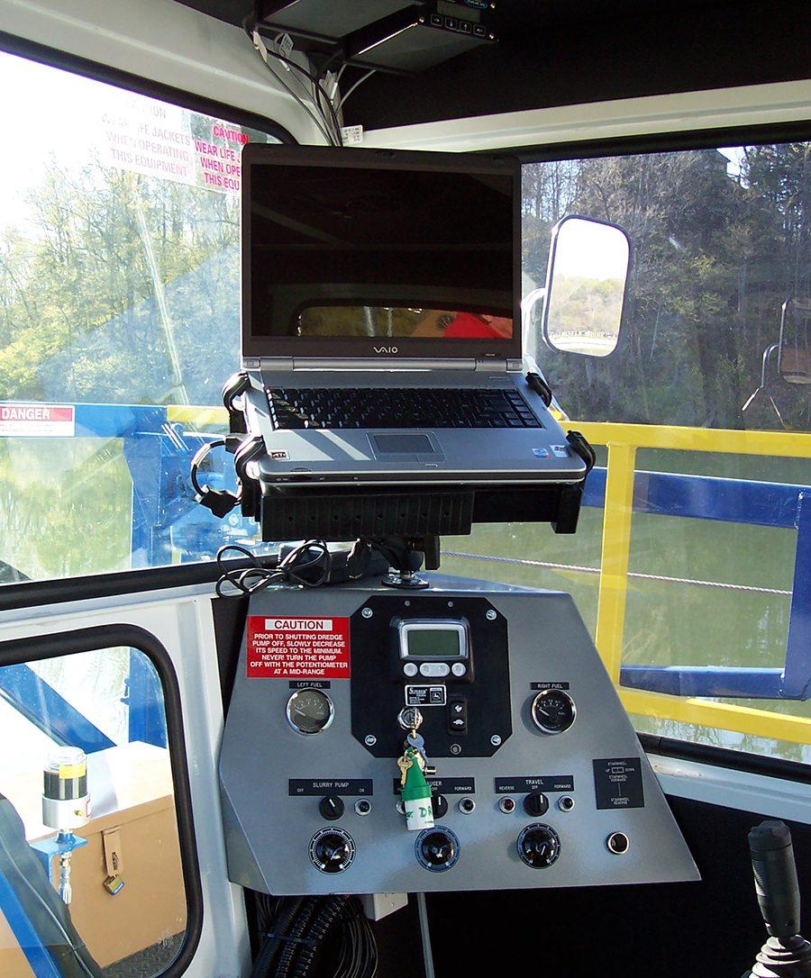 IMS sistema de dragagem GPS