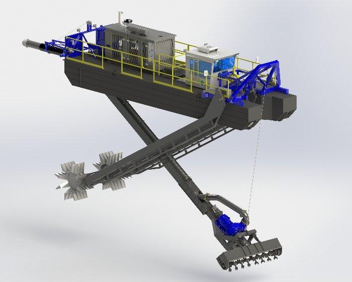 Starwheel Drive self-propulsion system